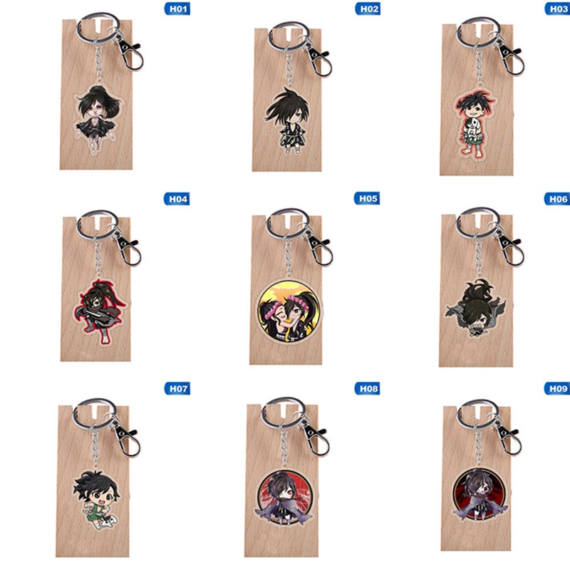 Anime Dororo Hyakkimaru Cosplay Acrylic Keychain Charm Keyring Phone Pendant Decor Brithday Party Xmas Gifts