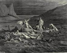 Gustave dore o inferno canto 2 arte impressão poster quadros a óleo lona para decoração de casa arte da parede
