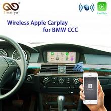 Sinairyu Sem Fio Da Apple Carplay Para BMW Série X5 E70 E90 E60 CCC 2008 2007 2006 2005 2004 2003 Acessórios Do Carro Carplay Android