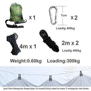 Image 3 - Hamaca de acampada hamaca hamac, 2 uds.