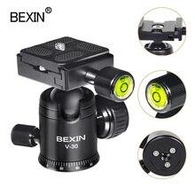 Kamera ball kopf video dslr stativ kopf montieren mini kugelkopf 360 grad rotierenden panorama kopf für stativ dslr kamera