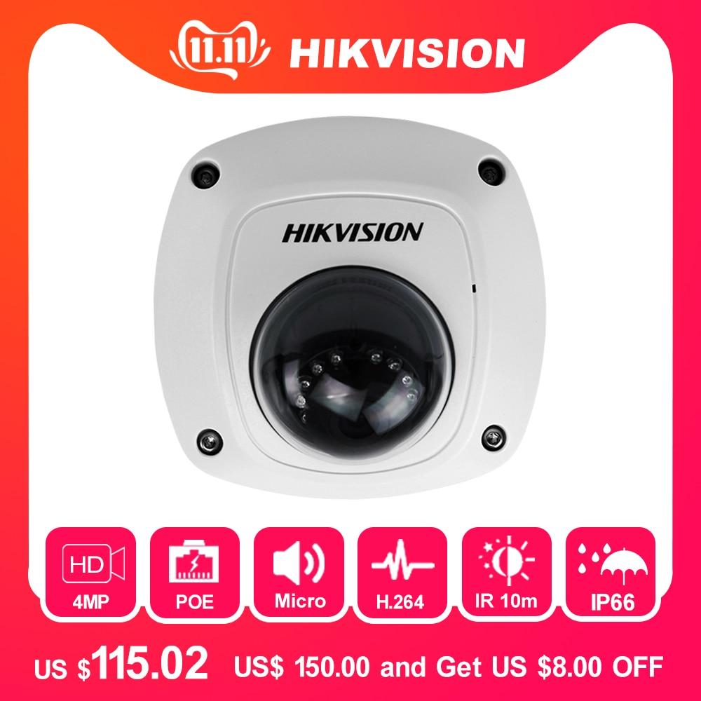 HIKVISION CCTV IP kamera DS-2CD2542FWD-IS 4MP Mini Dome kamera - Biztonság és védelem