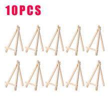New 10pcs 5 Sizes Mini Wooden Easel Stands Table Card Stand Holder Small Picture Display Stand for Home Party Wedding Decoration kicute wood artist easel wedding table number place name card photos stand display holder diy party table tools
