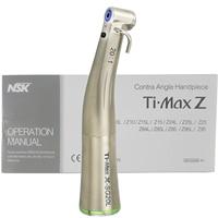 Ti Max X SG20L Dental LED Fiber Optic 20:1 Implant Contra Angle Handpiece NSK