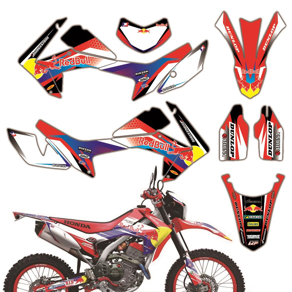 MXGRAPHIC Set Graphic Decals Stickers DECO KITS For Honda CRF250L CRF250M CRF250L/M 2012 2013 2014 2015 2016 2017 2018 2019 2020
