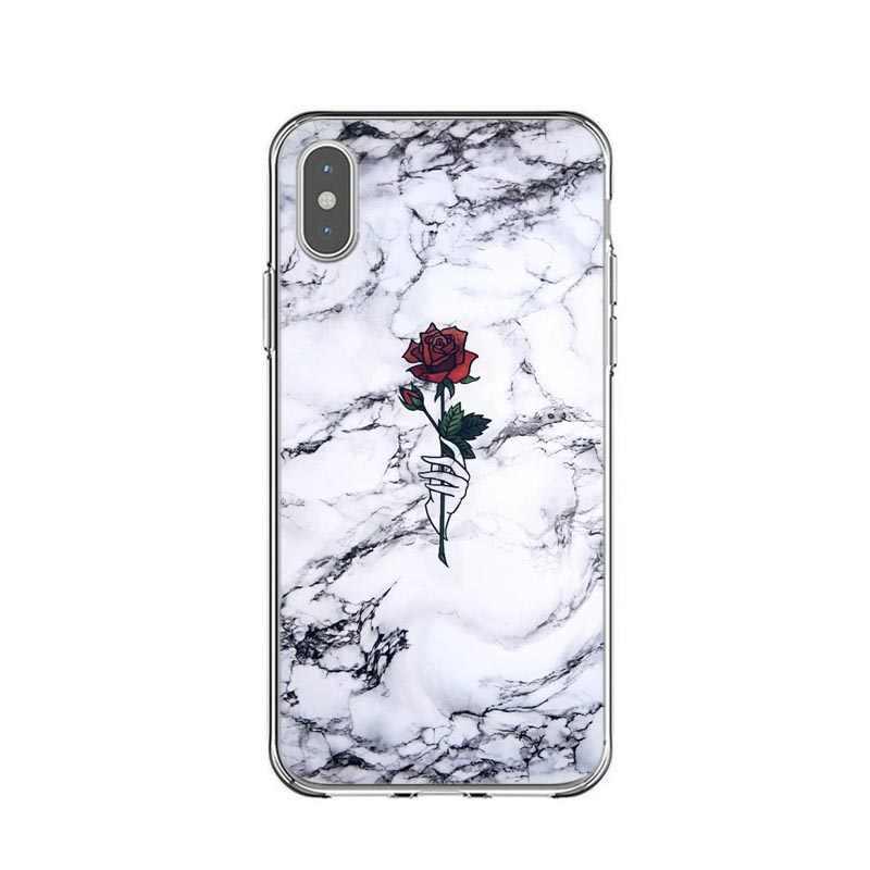 Его маленькие вещи в жизни розовый мрамор Жесткий ПК задняя крышка-чехол для телефона для iPhone 5 5S SE 6 6SPlus 7 7Plus 8 8 Plus X XS MAX XR