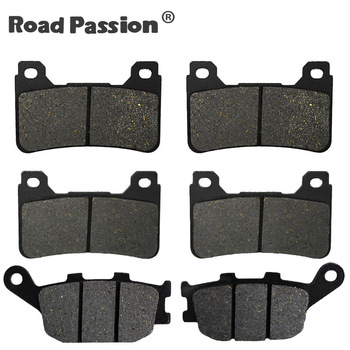 Motorcycle Front and Rear Brake Pads for HONDA CBR 1000 RR CBR1000RR CBR 1000RR CBR1000 RR Fireblade 2004 2005 image