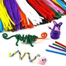 Multicolour Chenille Stems Pipe Cleaners Handmade Diy Art Craft Material Kids Creativity Handicraft Children Toys