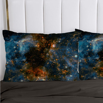 1PC Pillow Case Pillowcase Decorative Pillow Cover Galaxy Bedding for Wedding Hotel Home textile 70*70 50*70 50*75 65*65 45*45 1pc pillow case pillowcase decorative pillow cover cartoon dogs bedding for kids baby boys girls 70 70 50 70 50 75 65 65 45 45