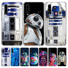 R2D2 Moon Phone Case for Huawei P40 P30