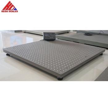 Máquina de escala de peso digital 1000 kg 2000KG plataforma balanza industrial 1 tonelada 1m x 1m plataforma balanzas