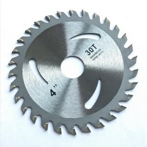 Image 3 - 85mm110mm125mm * 24/30/40z tct ראה להב מכונה רב תכליתי מתכת מסור עץ aliuminum חיתוך דיסק עבור כללי תכליתי חיתוך