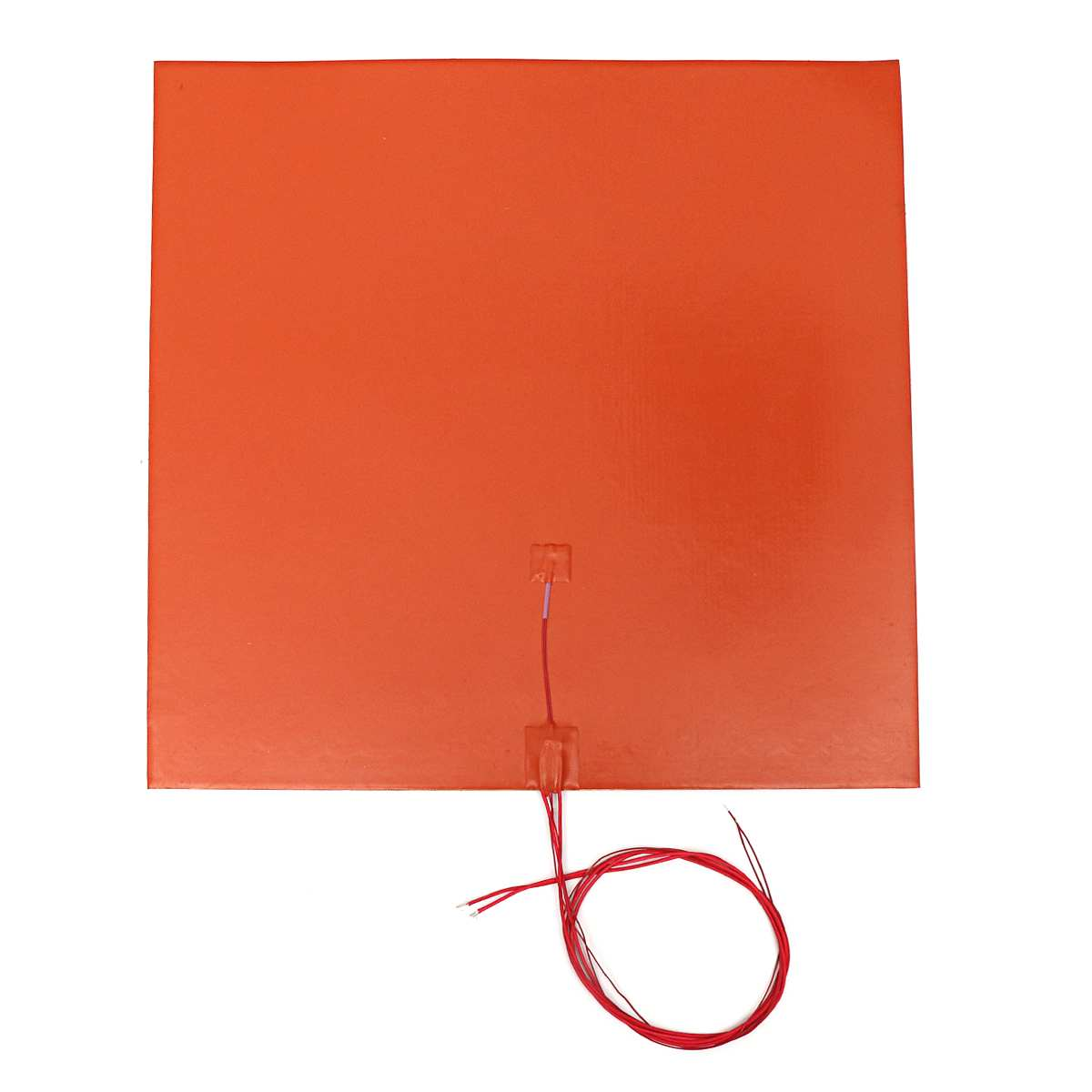 Silicone Heated Bed Heating Pad 110v 500mm 1400W Flexible Waterproof Pad Hot Bed Pad For 3D Printer Parts