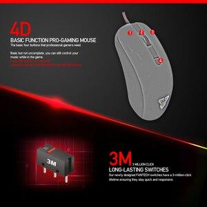 Image 2 - FANTECH G10 professionnel Gmae câble souris réglable 4800 DPI rvb 4 boutons souris optique jeu pour ordinateur portable jeu souris
