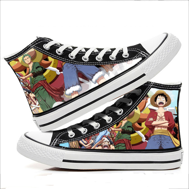 ONE PIECE THEMED HIGH TOP SHOES (18 VARIAN)