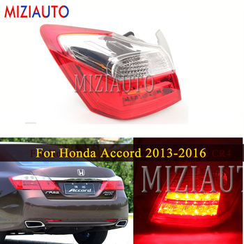 цена на Outer side Tail Light for Honda Accord 2013-2016 CR1 CR2 CR4 Rear Brake Turn signal Lamp Stop Tail Bumper Light Assembly