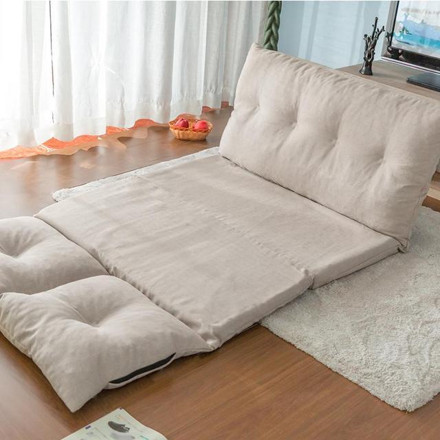 Фото регулируемая ткань диван складной кровать шезлонг кресло для