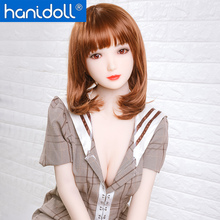 Hanidoll 158cm Japanese Silicone Sex Dolls Real Doll Love Fetish Men Realistic Ass Vagina Breast TPE Toy for