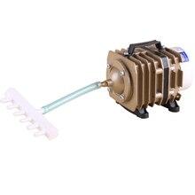 цена на SUNSUN series of electromagnetic aquarium air pump oxygen tank aquarium air compressor pond 220V compressor for aquarium fish