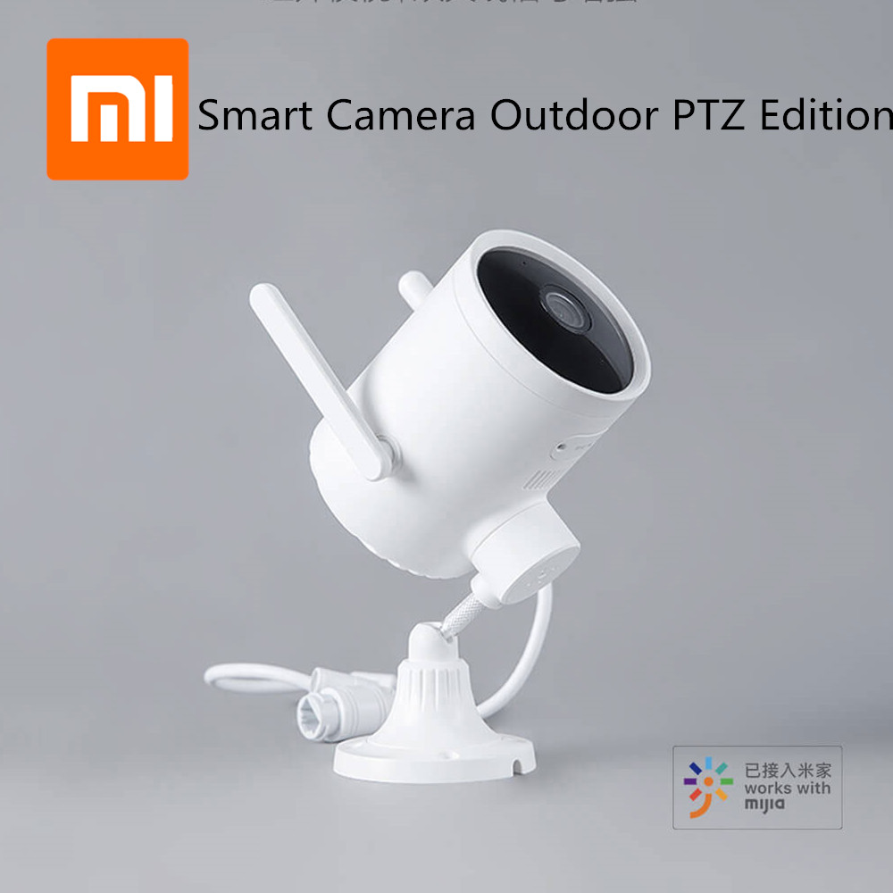 Xiaomi Imilab Smart Outdoor Camera Waterproof PTZ Webcam 270 Angle 1080P Dual Antenna Signal WIFI IP Cam Night Vision Mijia APP