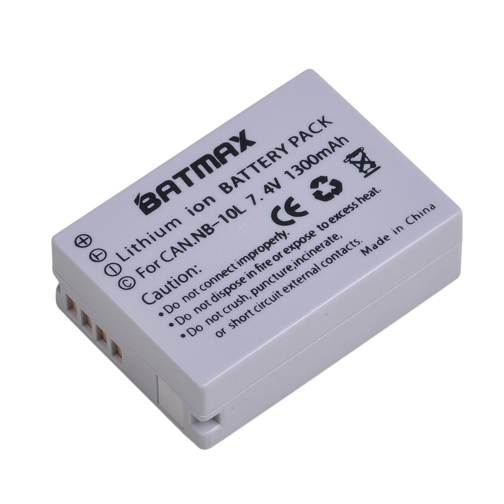 2x BATERIA PARA CANON Powershot G16 G 15 SX50 HS SX50HS SX 50 HS