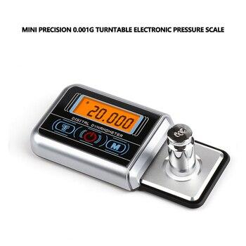 0.001g Mini Digital Turntable Stylus Force Scale Gauge Led Arm Load Meter  Professional Portable Balança de joias