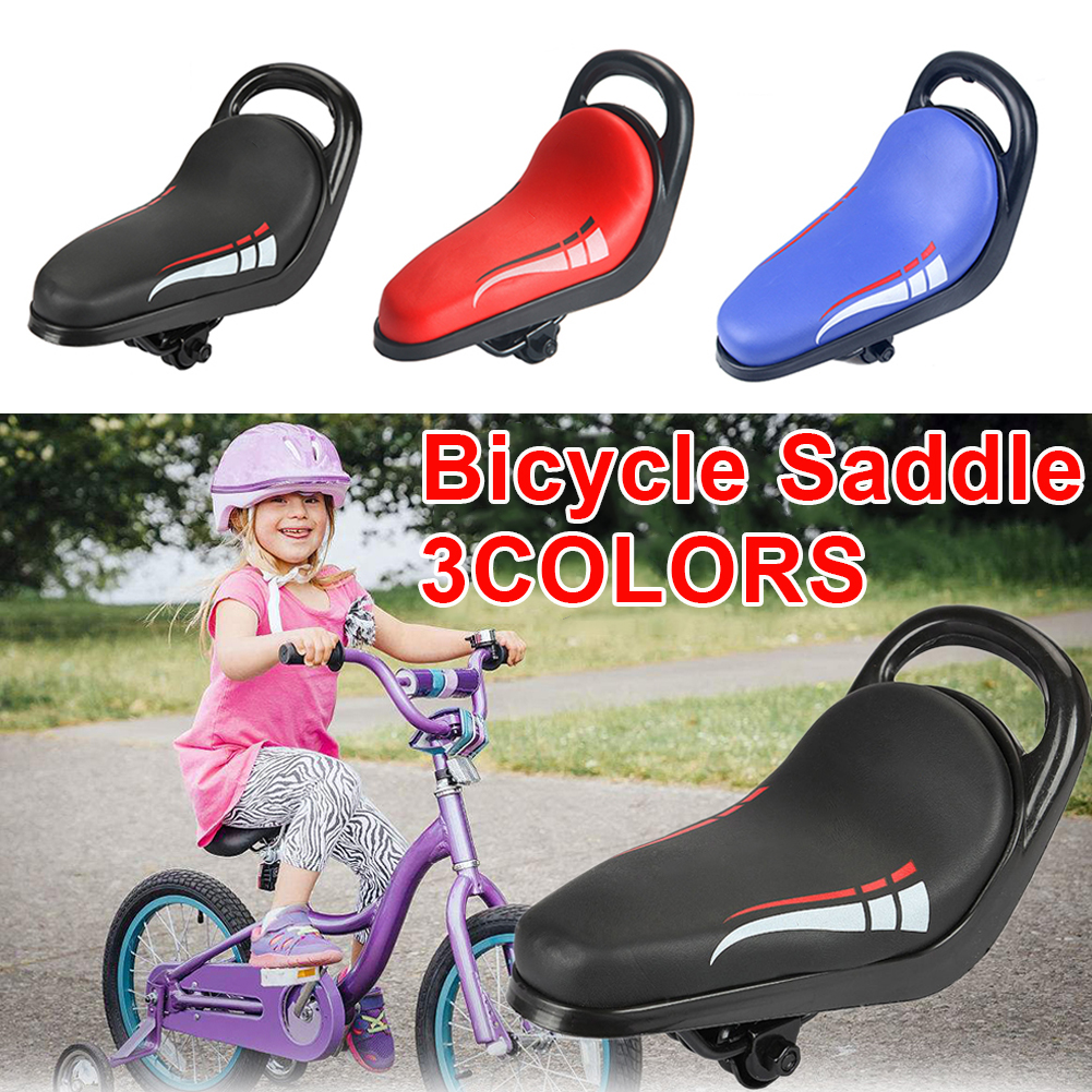 Bike Seat Saddle for Kids Bicycle Spare BMX Bike Replacement Pink