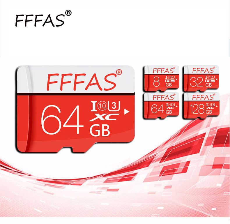 Karta pamięci 32GB 16GB 8 GB 128 GB 64GB karta USB klasa 10 TF karta SD 8 16 32 64 128 GB Cartao De Memoria Carte Adapter Lezer