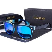 Солнцезащитные очки для женщин и мужчин, поляризационные, для вождения, с зеркальным покрытием, Ретро стиль, мужские солнцезащитные очки, UV400
