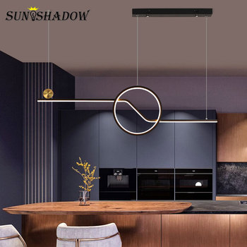 Modern LED Pendant Light  Decoration Ceiling Mounted Pendant Lamp For Living room Bedroom Dining room Kitchen Hanging Lamp Black black white square round led ceiling lamp living room dining room bedroom hall kitchen decoration modern dimming ceiling lamp