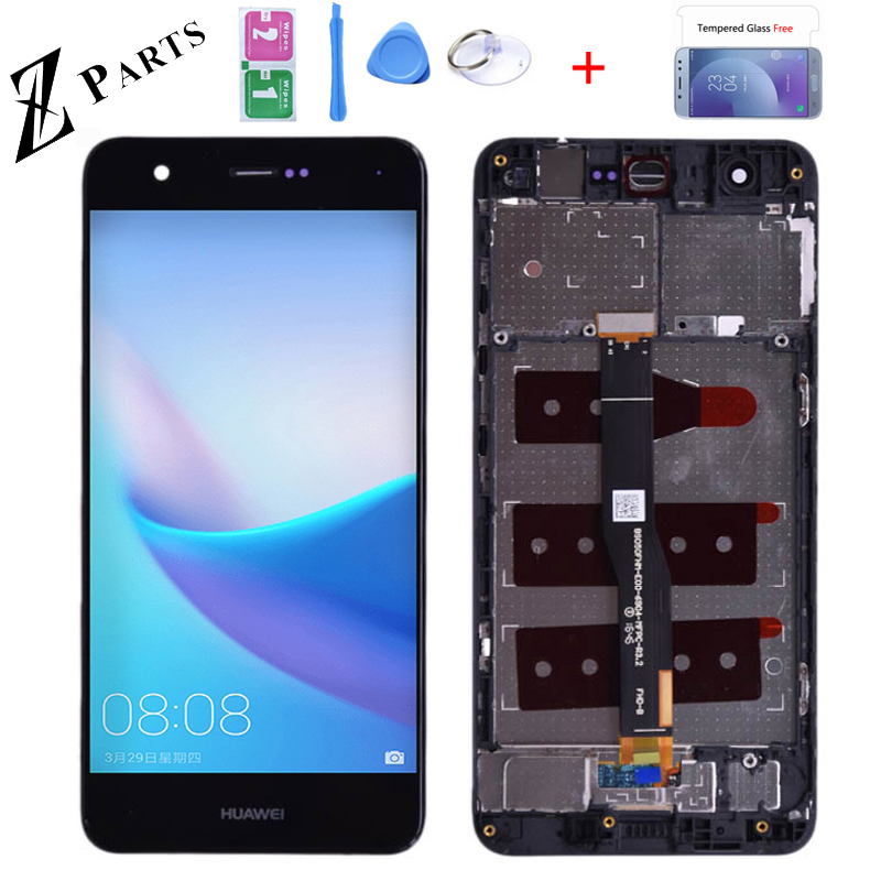 Original 5.0 For Huawei Nova CAN-L01 CAN-L02 CAN-L03 CAN-L11 L12 L13 LCD Display Touch Screen Digitizer With Frame Free Shipping