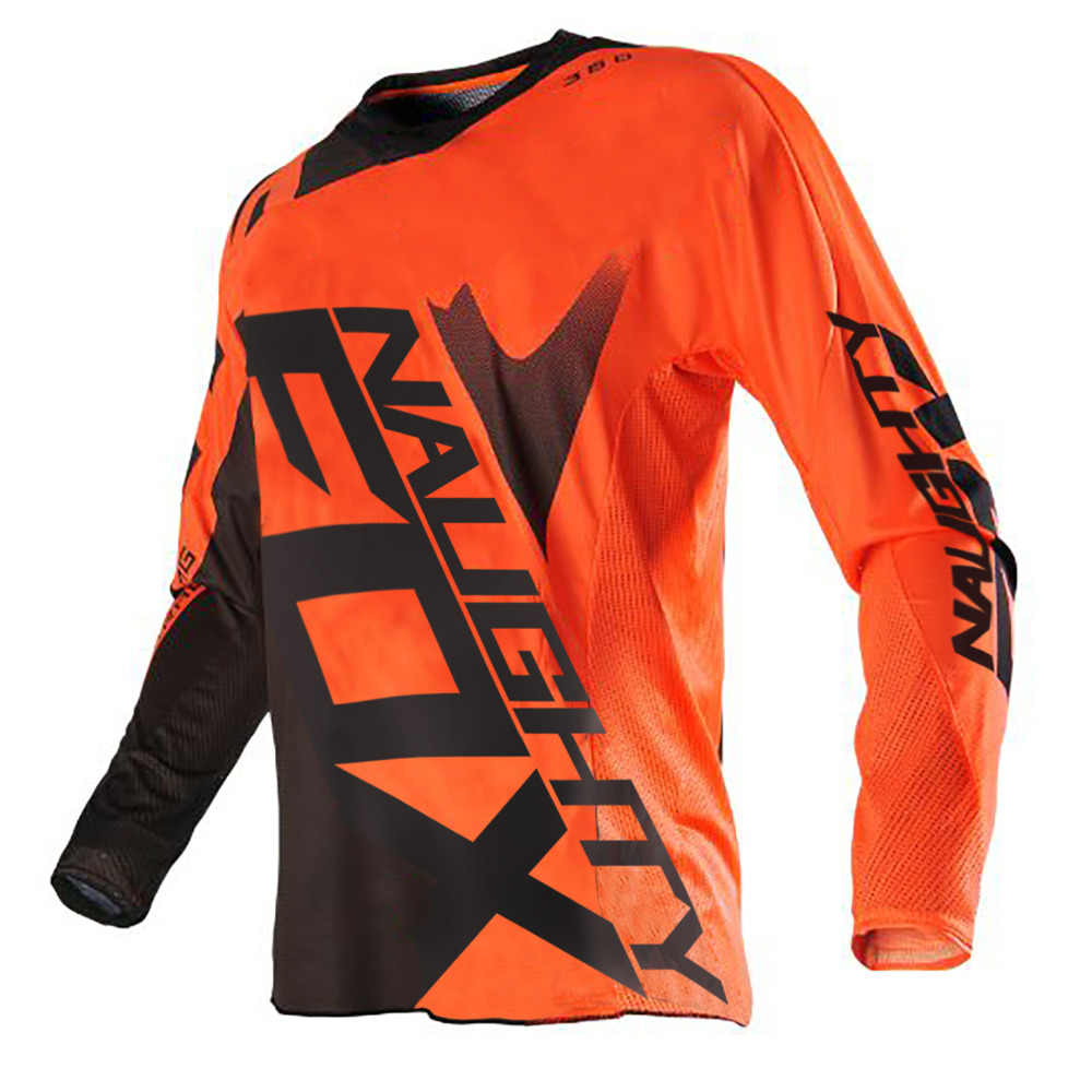 Nakal FOX MTB Balap 360 Shiv Jersey Motocross MX Balapan Off Road Jersey ORANGE Orang Dewasa