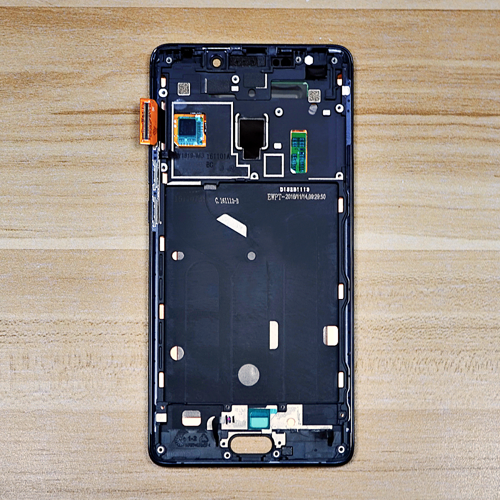 Image 2 - Original 5.7'' LCD For Xiaomi MI Note 2 LCD Display Touch Screen Digitizer Assembly With Frame For XIAOMI Note 2 LCD Screen-in Mobile Phone LCD Screens from Cellphones & Telecommunications