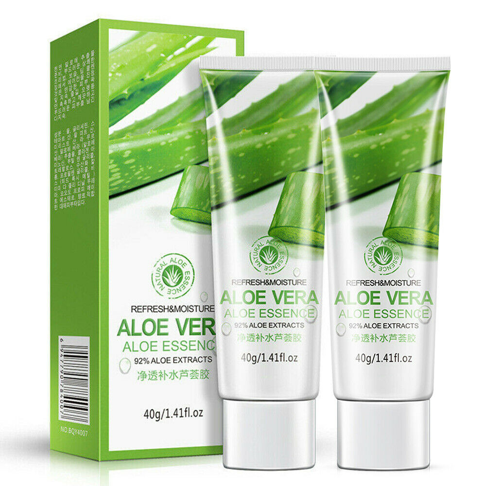 Aloe Vera Gel 40g 2 Pack Aloe Vera Soothing Moisture Gel 100 Pure Moisturizer 40g Moisturiser Provide Hydration To The Skin Facial Self Tanners Bronzers Aliexpress