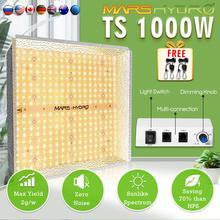 المريخ هيدرو TS 1000 واط LED تنمو ضوء كومبو الطيف الكامل للزراعة المائية والنباتات الطبية لا يوجد مخزون في روسيا