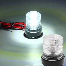 Lampe d'ancrage Marine pour bateau et Yacht, ronde à 360 degrés, éclairage de Navigation, 6300K 12V LED