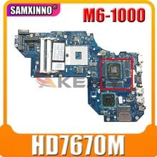 Для струйного принтера HP Pavilion M6 M6-1000 Материнская плата ноутбука LA-8711P 698399-501 698399-001 аккумулятор большой емкости HM76 DDR3 GPU HD7670M 100% тесты работы