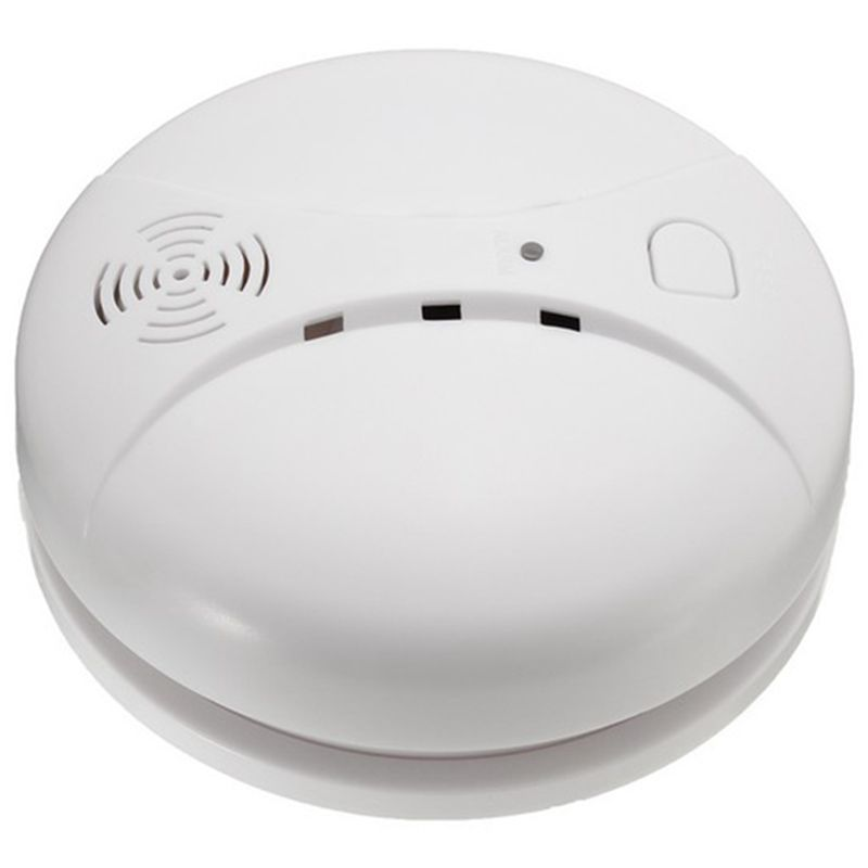 AAAE Top-433MHz Wireless Smoke Detector Fire Sensor For G18 W18 GSM WiFi Security Home Alarm System Auto Dial Alarm Systems