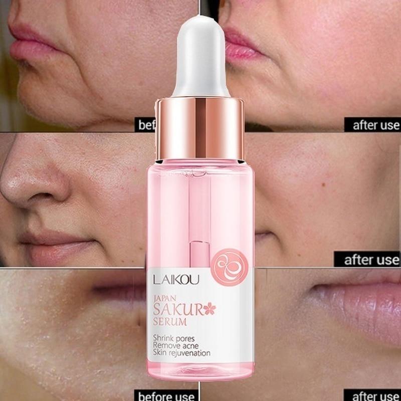15ML kwas hialuronowy kurczenie się porów esencja dokręcania kontrola oleju fundacja przedłużyć pory niewidoczne baza do makijażu 6