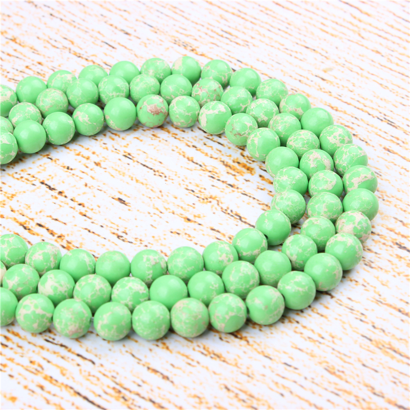 20-100Pcs Charm Czech Glass Pearl Round Loose Spacer Beads Craft 4//6//8//10//12mm