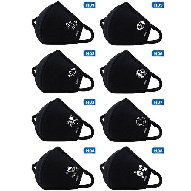 Kpop BLACKPINK Album Logo Print K-pop Fashion Face Masks Unisex Cot cotton mask 5