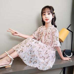 Летняя одежда без бретелек; Платье в цветочек для девочек от года до 12 лет, детская одежда, 6 лет, 9 в молодежном стиле платья 8 принцессы вечерние на день рождения