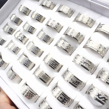 Wholesale 20 Pieces Mix Stainless Steel Ring Jewelry Dragon Heart Statement Wedding Rings for Women Men Gift wholesale 20 pieces mix stainless steel ring jewelry dragon heart statement wedding rings for women men gift