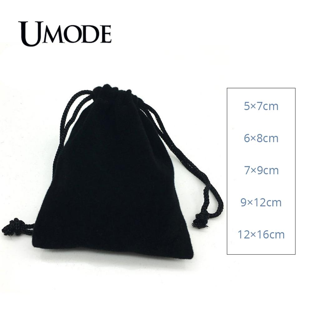 black flannelette Suede Jewlery Velvet packing Gift Pouch silk cloth Gift Bags