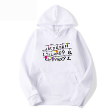 2019 Brand Men Trendy Faces Stranger Things Hooded Mens Hoodies And Sweatshirts Oversized For With Hip Hop Autumn Winter Hoodies trendy anime things hooded mens hoodies and sweatshirts oversized for autumn with hip hop winter hoodies men brand add wool warm