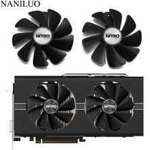 Ventilador cooler para sapphire nitro rx480, 95mm/dc12v, substituição para 8g rx 470 4g gddr5 rx570 4g/8g d5 rx580 8g oc