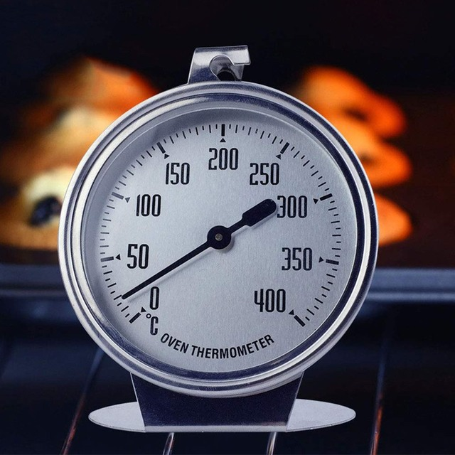 0-400 Celsius Stainless Steel Oven Thermometer Mini Dial Stand Up Temperature Gauge Gage Food Meat Kitchen Tools Oven Cooker 3