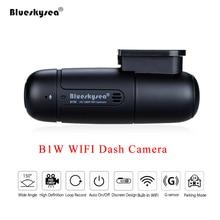 Blueskysea B1W Dash Camera Ô Tô Dvr Full HD 1080P Mini WiFi Dash Cam 360 Độ Xoay Chế Độ Đỗ Xe IMX323 bảng Điều Khiển Xe Đầu Ghi