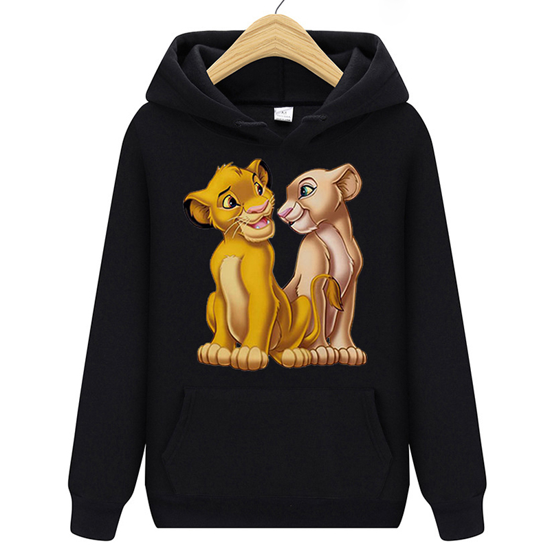 Black-Blue-Grey-Casual-Harajuku-Graphic-Female-Sweatshirt-Lion-King-HoodiesCotton-Kawaii-Funny-Womens-Hoodies-Pullover