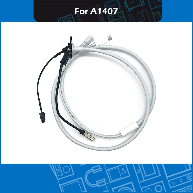 """Novo cabo de exibição de thunderbolt a1407 para apple 27 """"922-9941 conjunto completo mc914"""